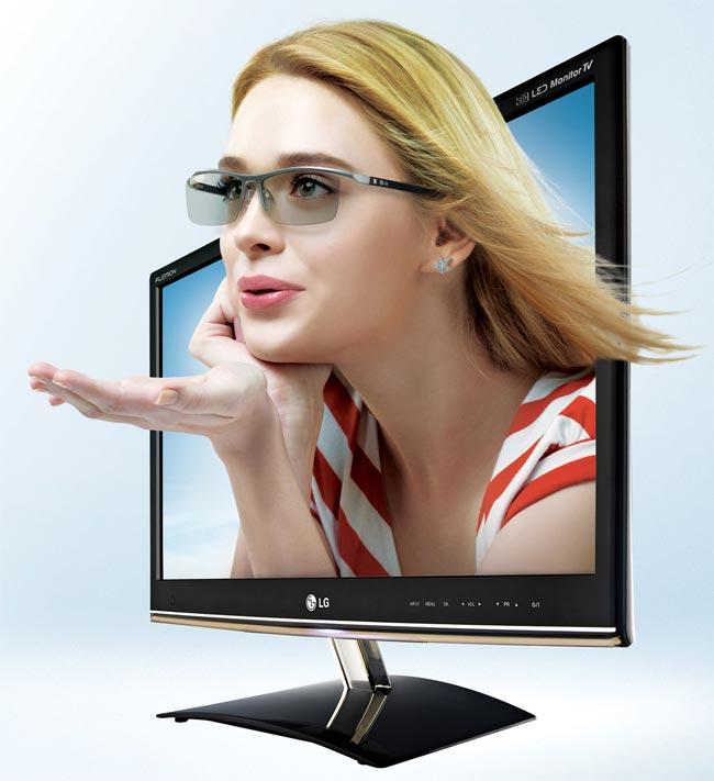 LG DM50D 3D HTDV Monitor
