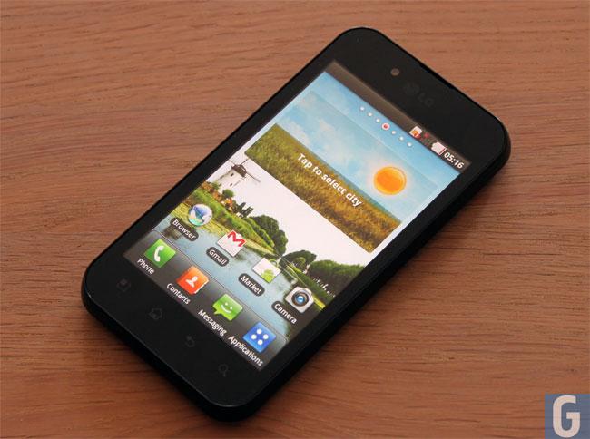 LG Optimus Black Android
