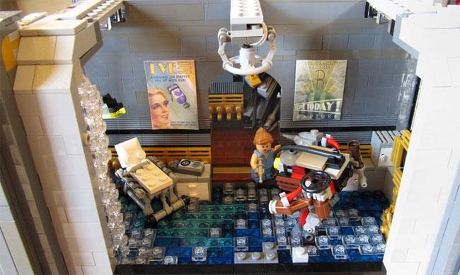 Fantastic Lego Bioshock Rapture Complete With Plane Crash