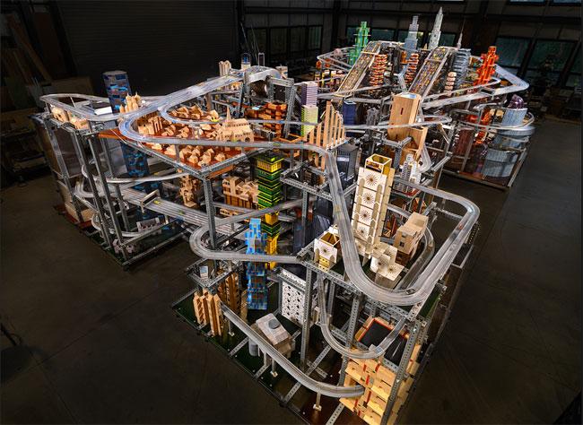 Metropolis II Matchbox Car Cityscape