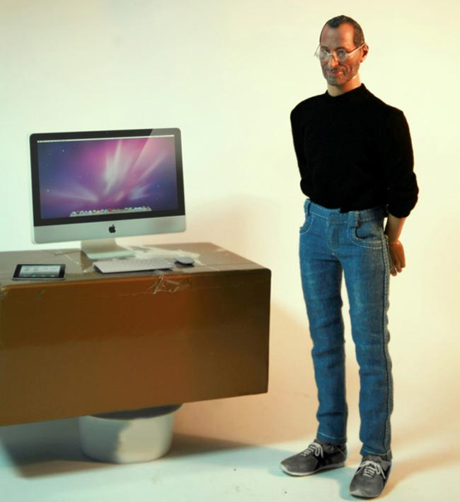 Mini Steve Jobs Action Figure