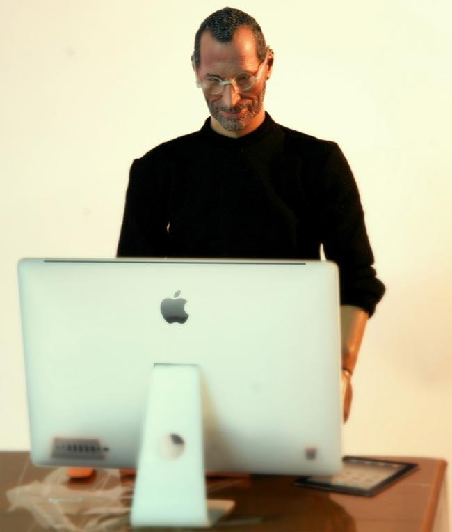 Mini Steve Jobs Action Figure