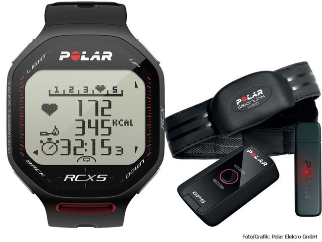 Polar RCX5 Fitness Training Computer