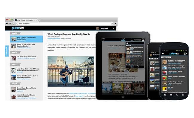 Pulse iOS News Reader