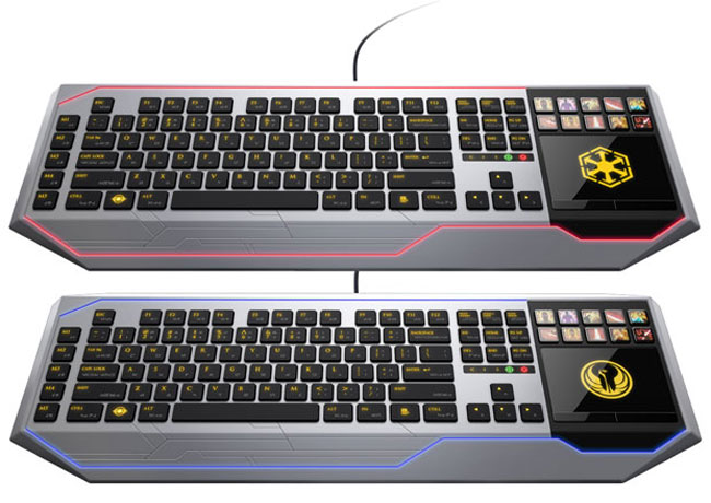 Razer Star Wars The Old Republic Keyboard