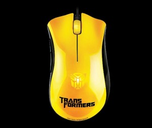 Razer Debuts Cool DeathAdder Transformers Gaming Mice