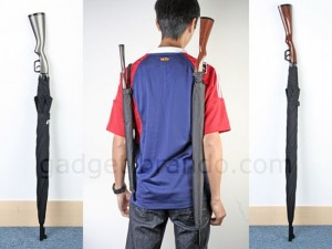 Rifle Umbrella Is Perfect For Assassins And Would-Be Insurgents