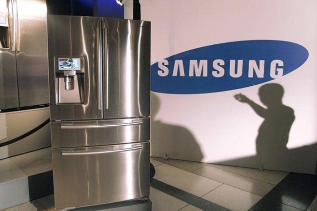 Samsung Wi-Fi Fridge