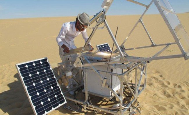 Solar Sinter 3D Printer Uses Sand And Sunlight