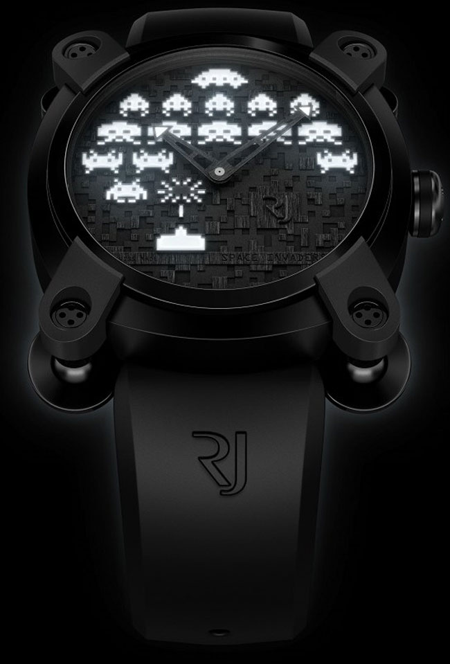 Space Invader Watch