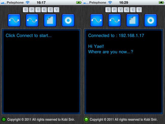 SpyKey iOS App