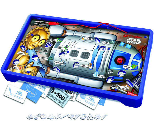Star Wars Operation Game R2-D2