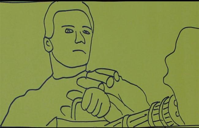 Terminator 2 sketch