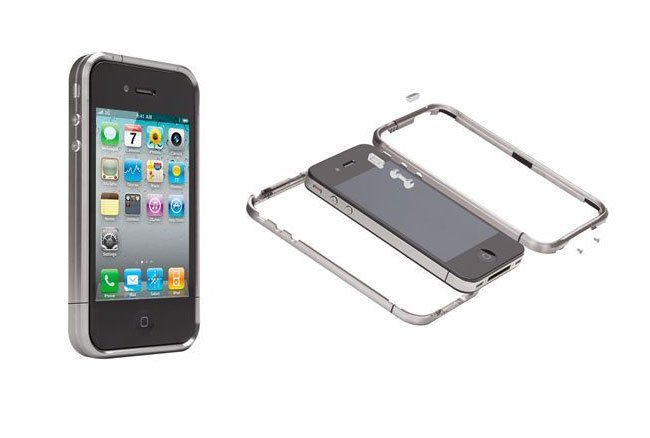 Titanium iPhone 4 Case