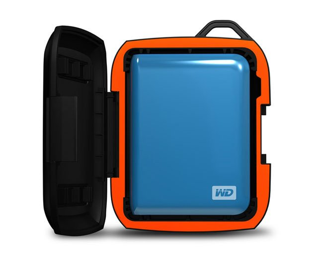 WD Nomad Rugged Passport External Hard Drive Case