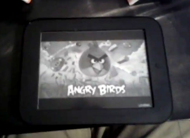 Angry Birds Nook Touch