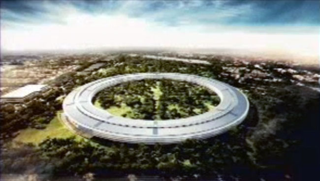 Apple's New Cupertino Campus
