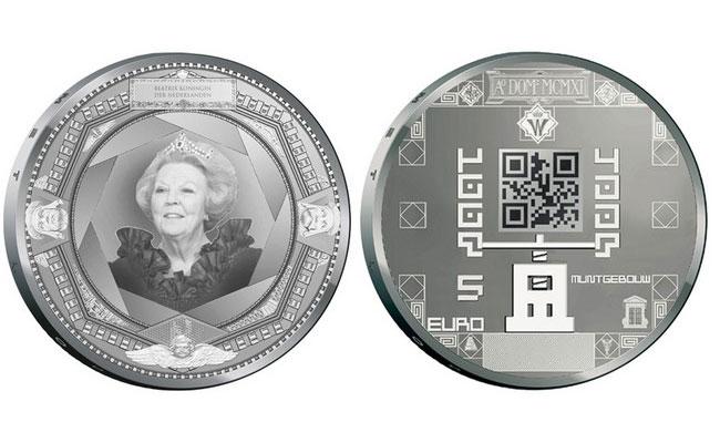 Dutch QR Coins