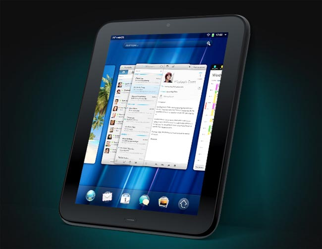 HP TouchPad UK