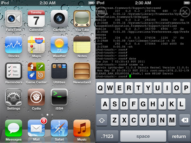 Apple's iOS 5 Gets Jailbroken