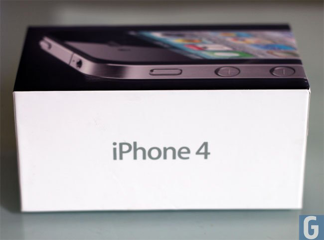 iPhone 4 Packaging