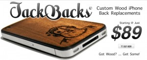 JackBacks Wooden Replacements for iPhone Backs Look Great