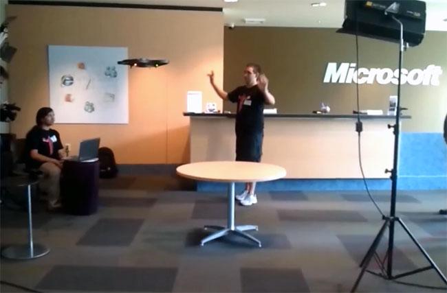 Kinect Quadricopter