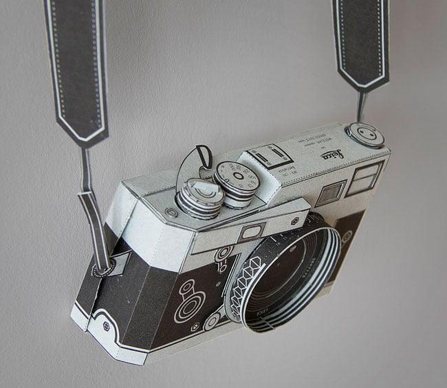 Papercraft Leica