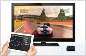 Real Racing 2 HD Will Work With Your Apple TV With AirPlay