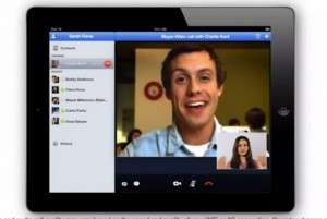 Skype For iPad Coming This Week (Video)