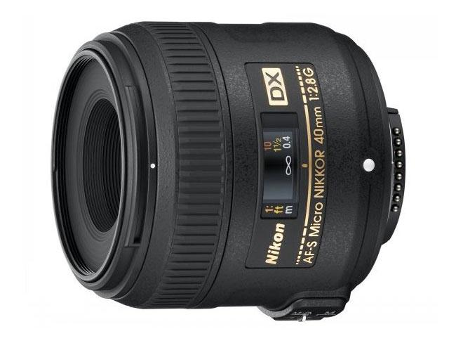 Nikon AF-S-DX-Micro-NIKKOR-40mm-f-2.8G-Lens