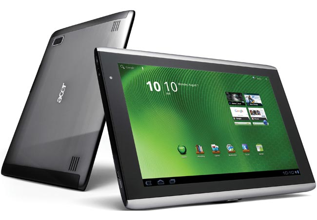 Acer Working On Android Tablet With Slide Out Keyboard?