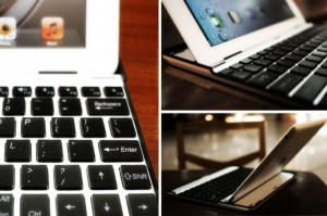 Disguise Your iPad 2 As A MacAir Using The Buddy Aluminium Keyboard Case