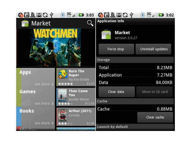 Android Market Update