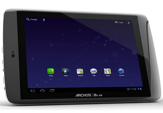 Archos G9 Honeycomb Tablets
