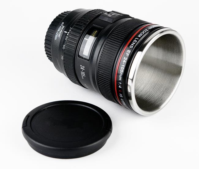 Canon camera lens mugs for Canon photo lens mug