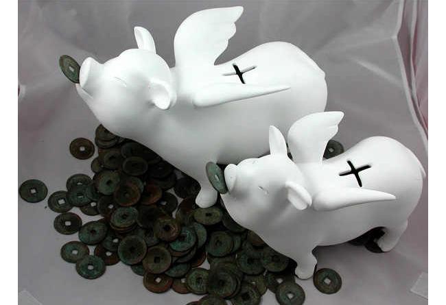 Flying Piggy Bank