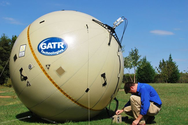 GATR Inflatable Satellite