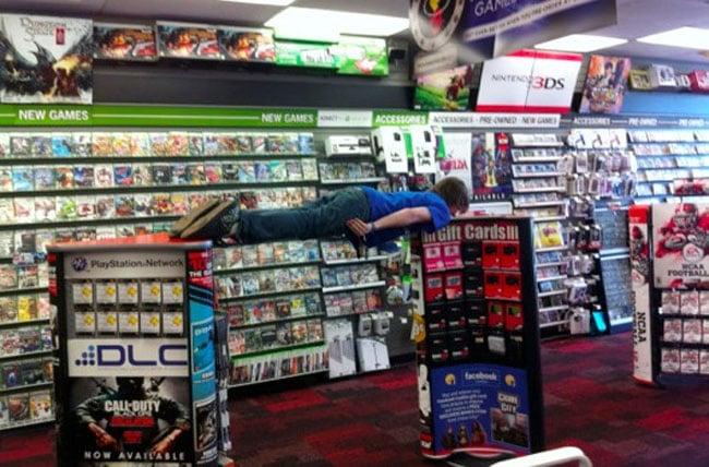 Gamestop Planking