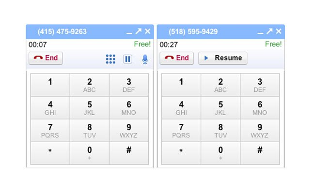 Gmail Call Multiple Calls
