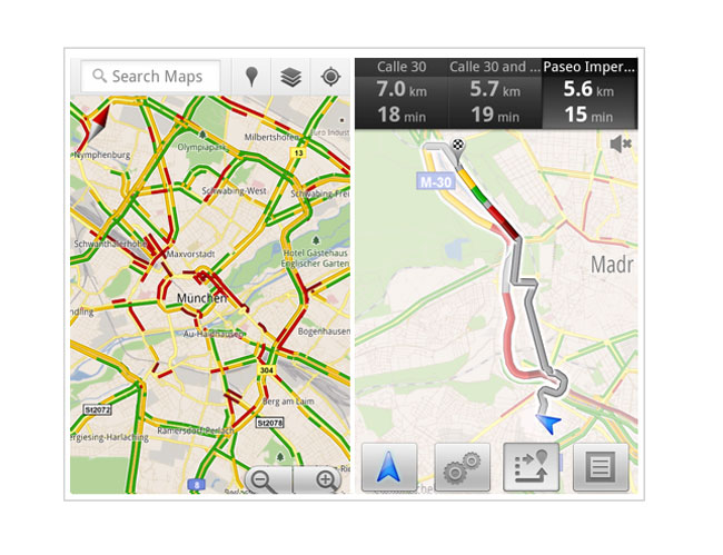 Google Maps Now Provides Live Traffic Reports In 13 More European