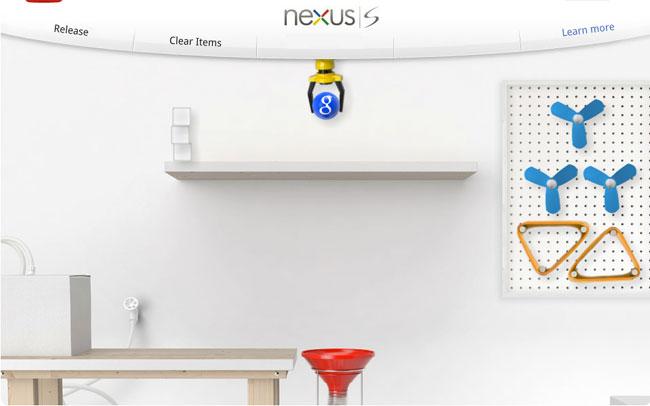 Google Nexus Contraptions