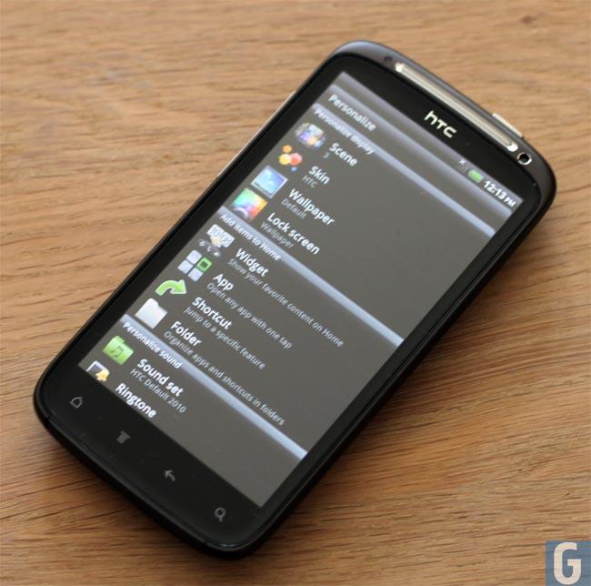 HTC Sensation Hands On