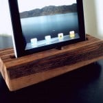Handcrafted Wooden iPhone And iPad Docks
