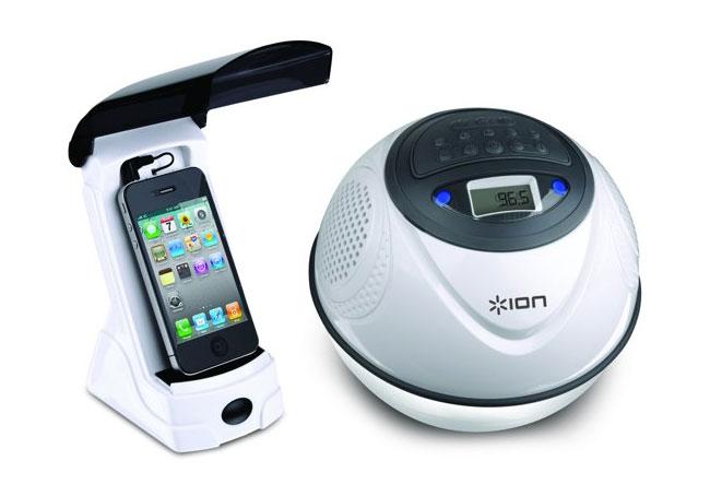 ION Water Rocker Waterproof iPhone Speaker Dock