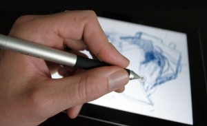 Jot Adonit Capacitive Touch Stylus (video)