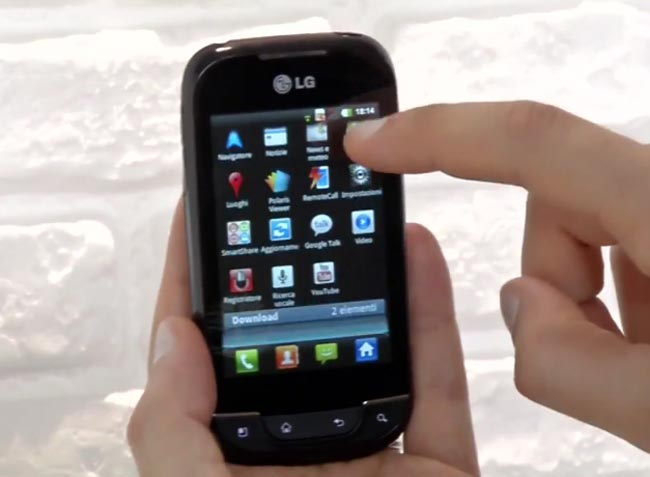 LG Optimus Net P690 Android Smartphone