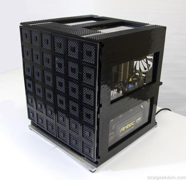 Lego PC Case Houses 3 Computers