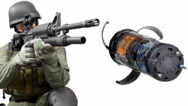 Maul gun