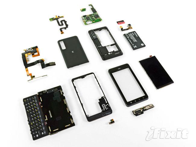 Motorola Droid 3 Teardown